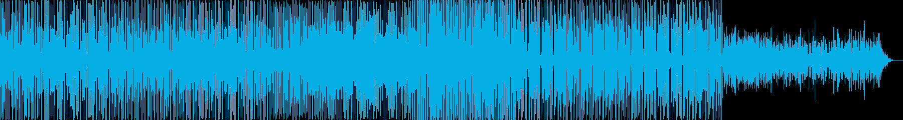 ラテンっぽい クリアなギターがメインの再生済みの波形