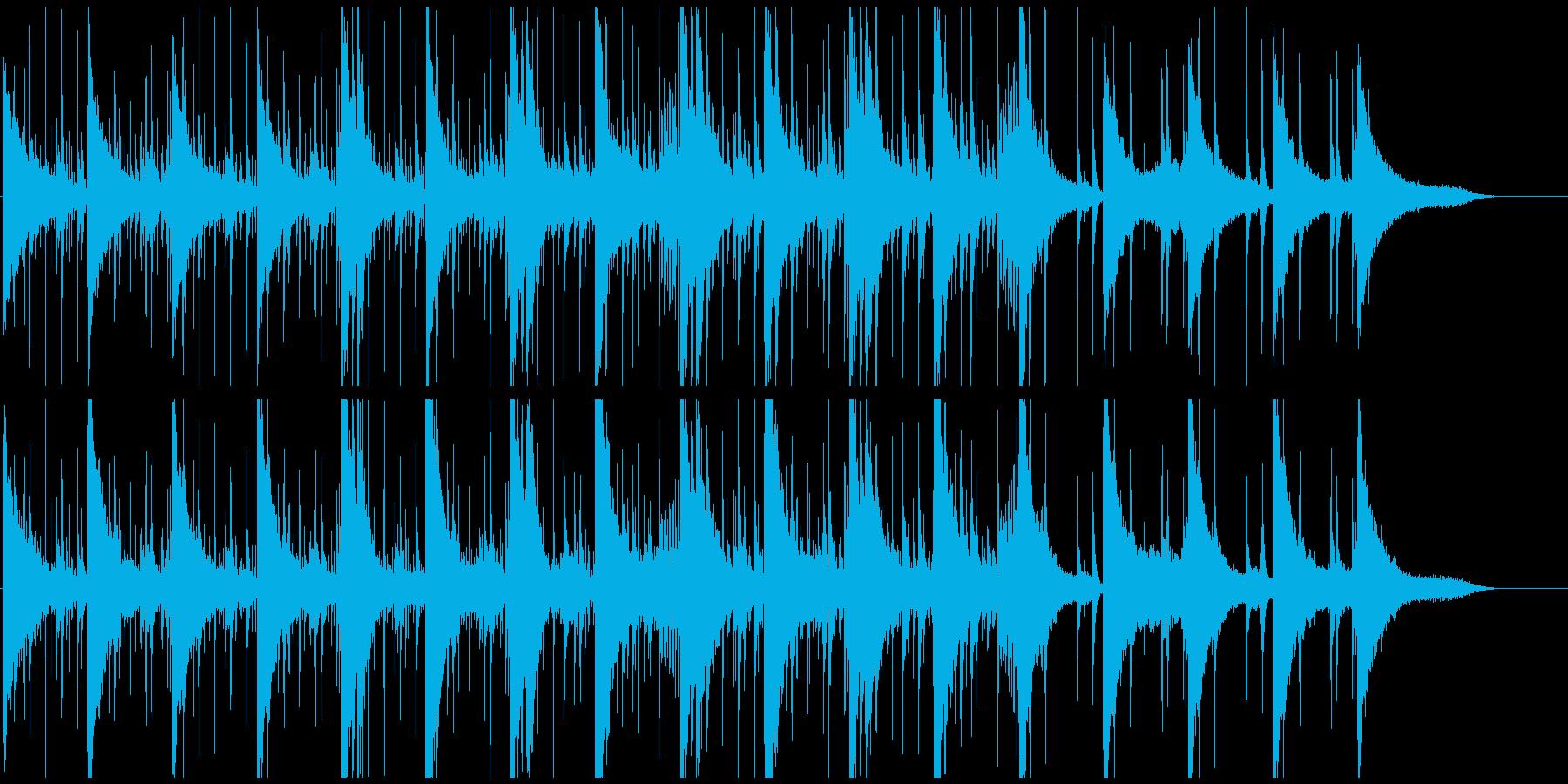 ハイテク通信系映像、ゲーム、アプリにの再生済みの波形