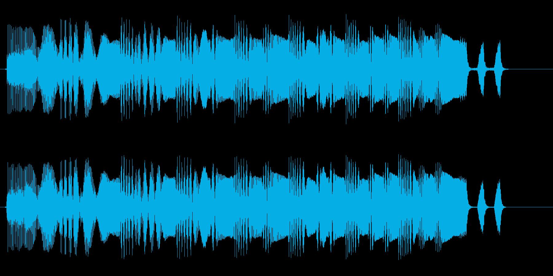 プェプェプェプェ(上がる)の再生済みの波形