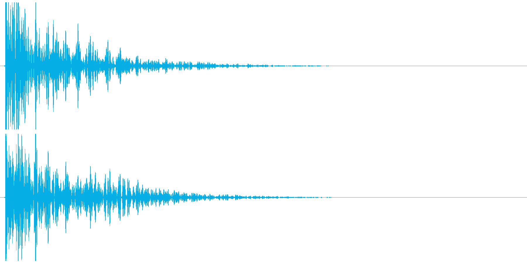 ドン! 和太鼓 登場シーンなどにの再生済みの波形