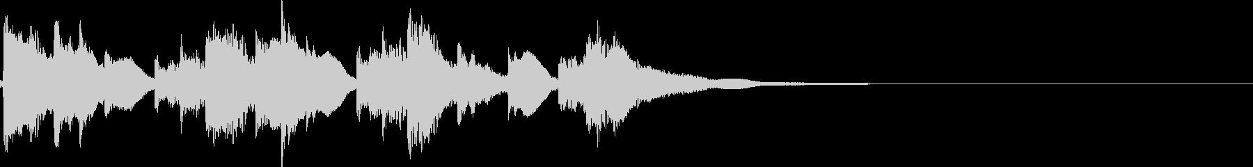 アイキャッチ4 リバーブ有の未再生の波形