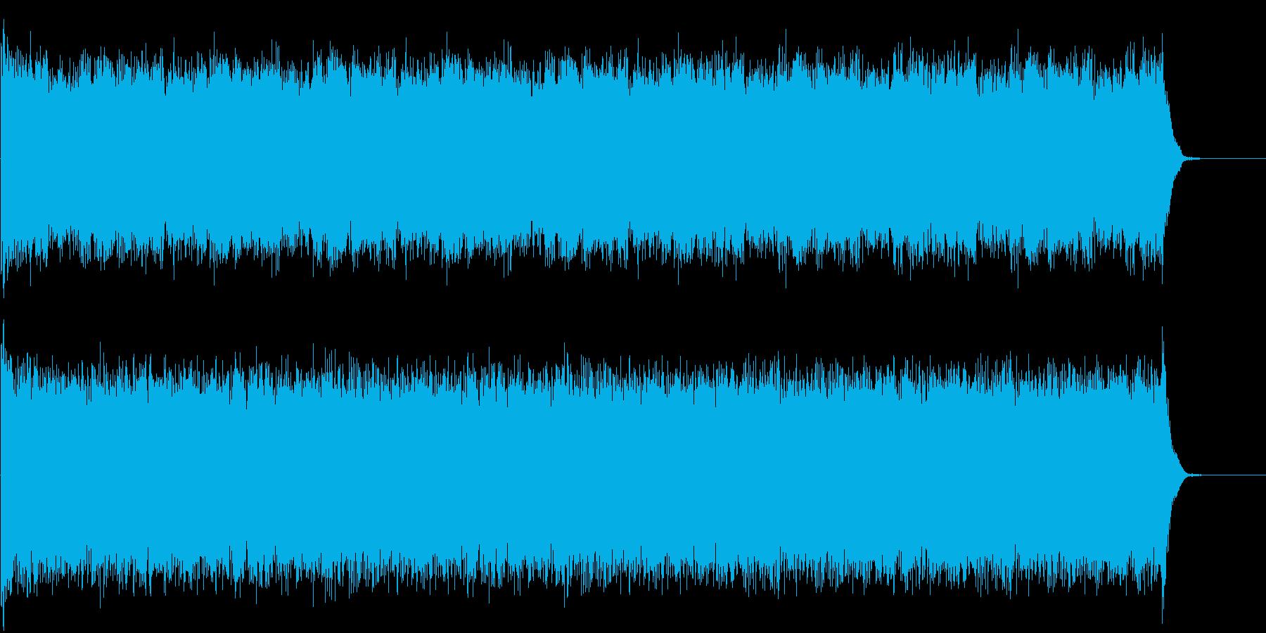 1分続くドラムロール スネアとティンパニの再生済みの波形