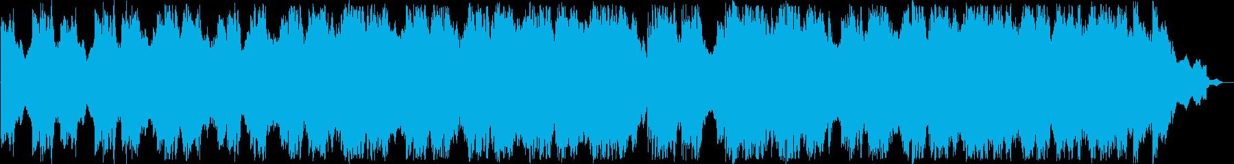 繊細で力強いシンセピアノサウンドの再生済みの波形