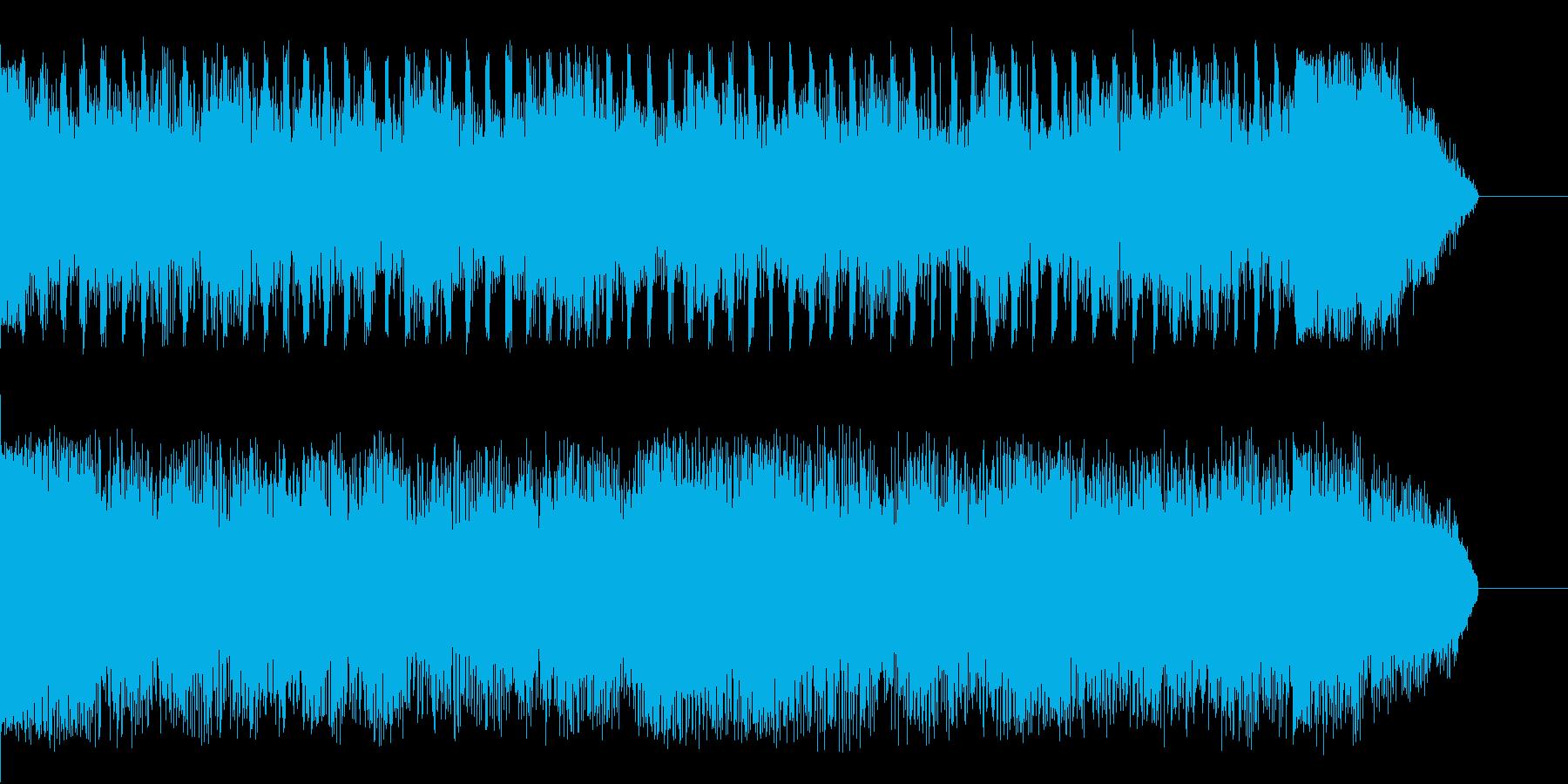 深夜0時頃に似合うジングルの再生済みの波形