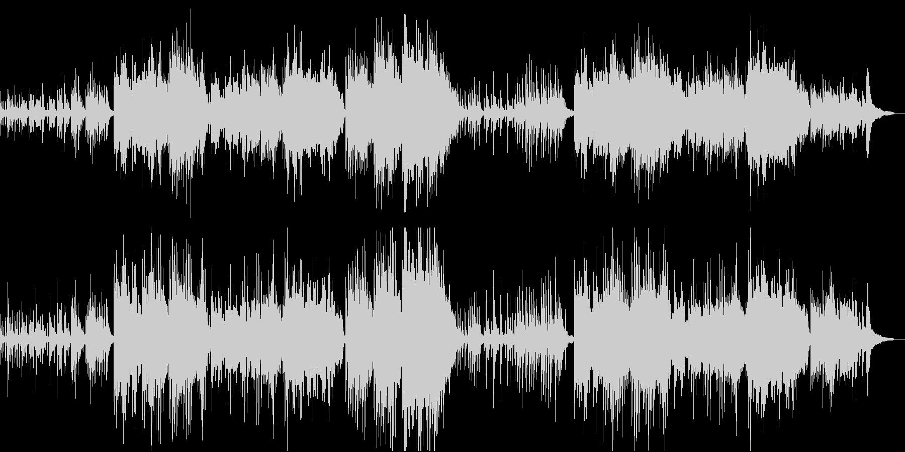うつくしく奏でるピアノBGM/映像BGMの未再生の波形