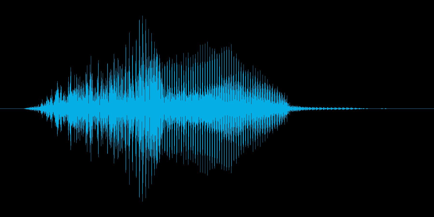 はっ!(Type-E)の再生済みの波形