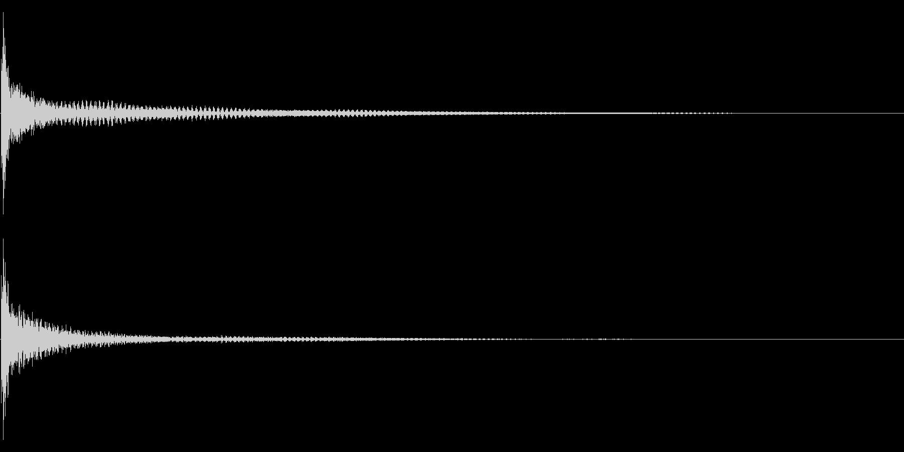 ティンパニー☆ドン!1の未再生の波形
