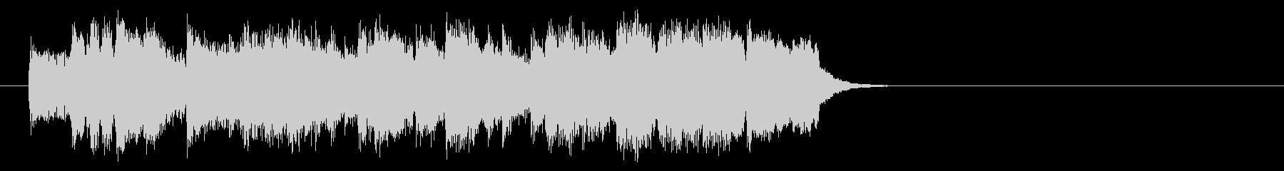 懐かしの歌謡ジャズ風楽曲(サビ)の未再生の波形
