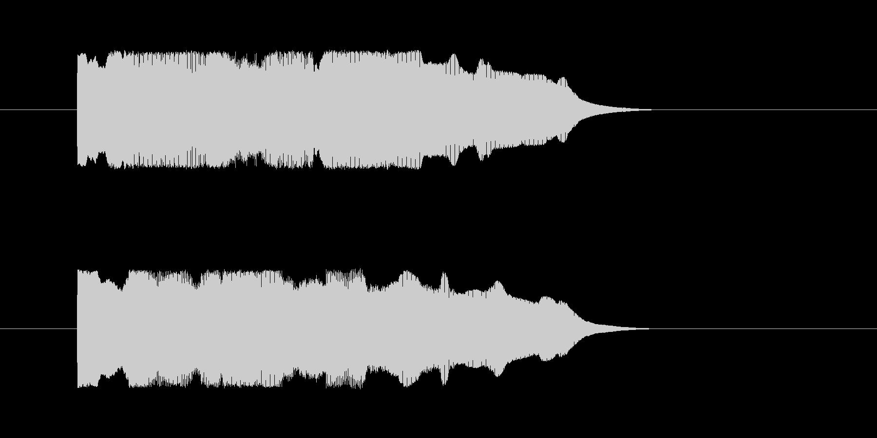 正解の音【クイズ】の未再生の波形