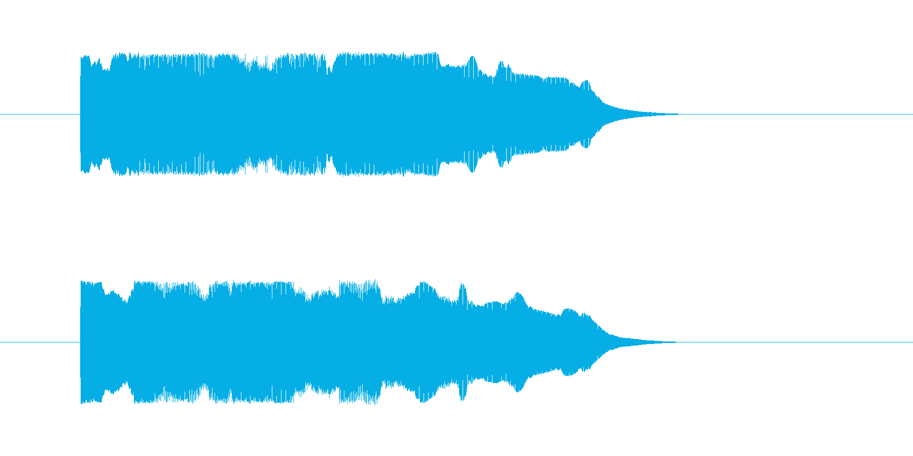 正解の音【クイズ】の再生済みの波形