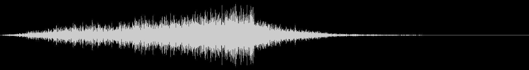 メニュー画面音(ウインドウ,決定等)08の未再生の波形