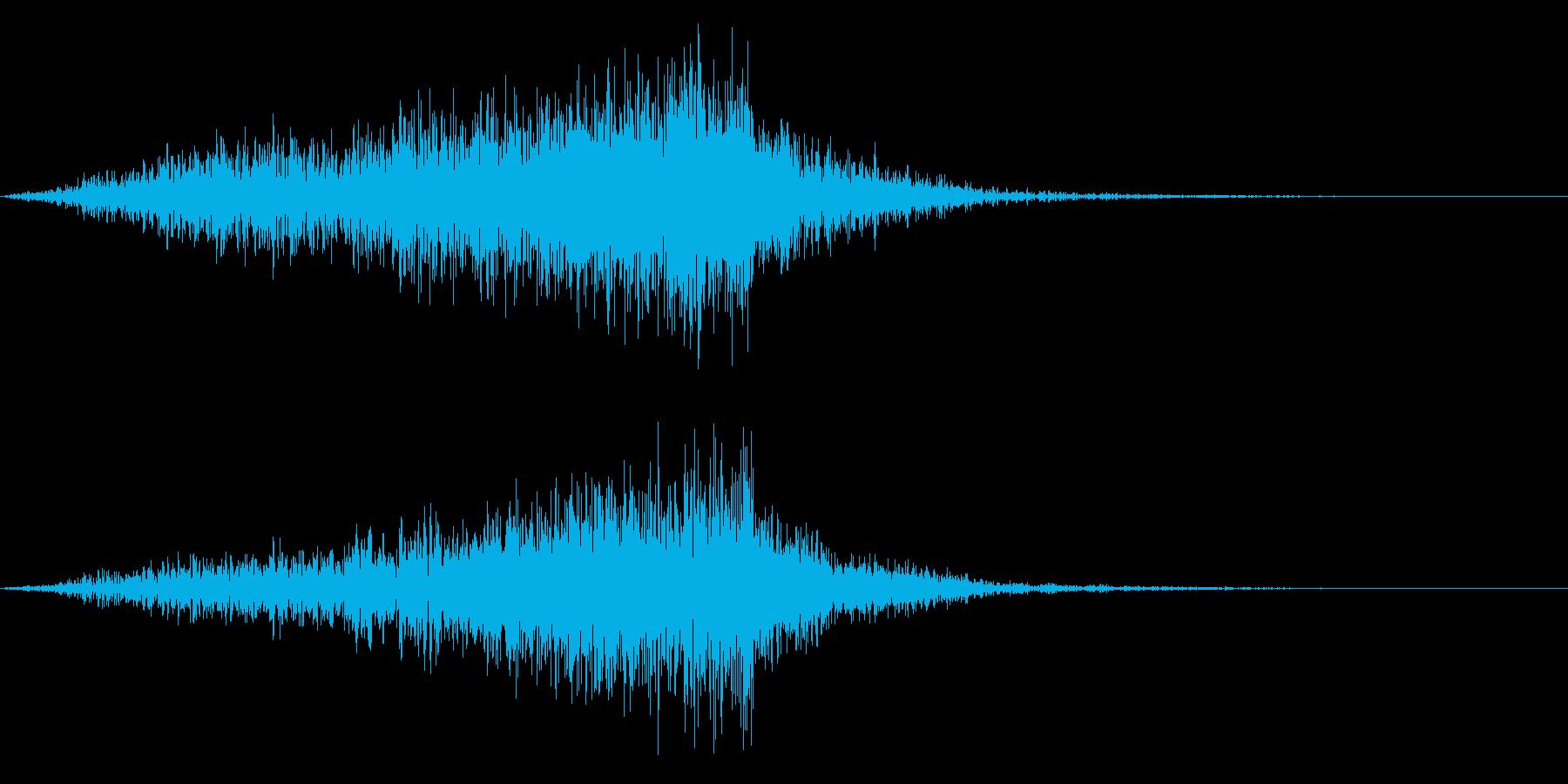 メニュー画面音(ウインドウ,決定等)08の再生済みの波形
