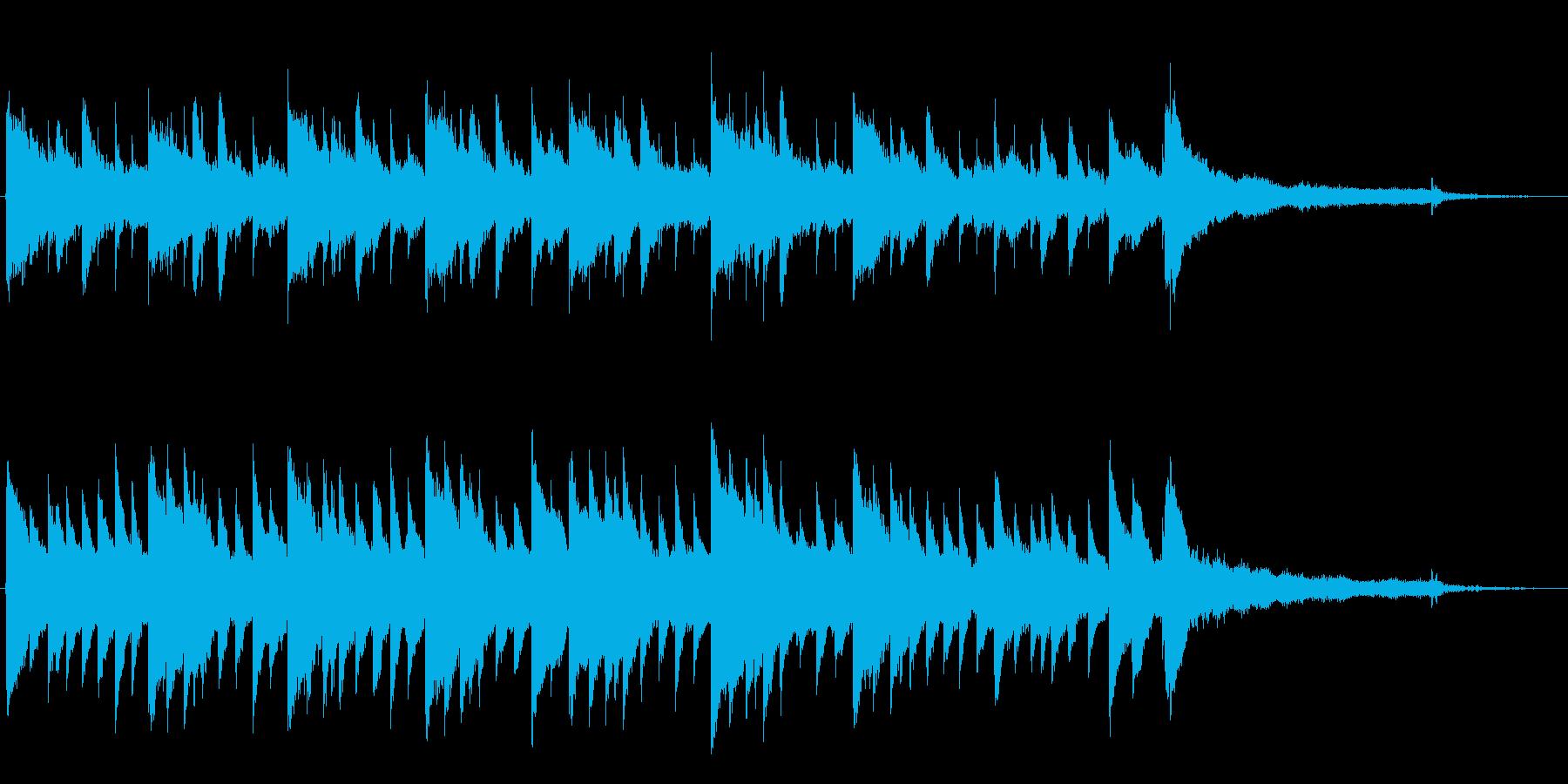 幻想的でどこかに迷い込んだような曲です。の再生済みの波形