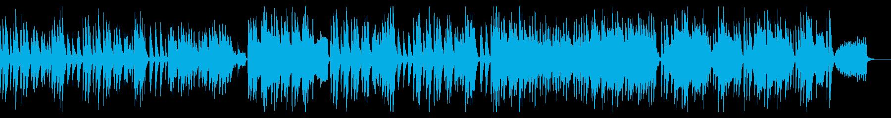 和やかであたたかな、ほのぼのとした日常曲の再生済みの波形
