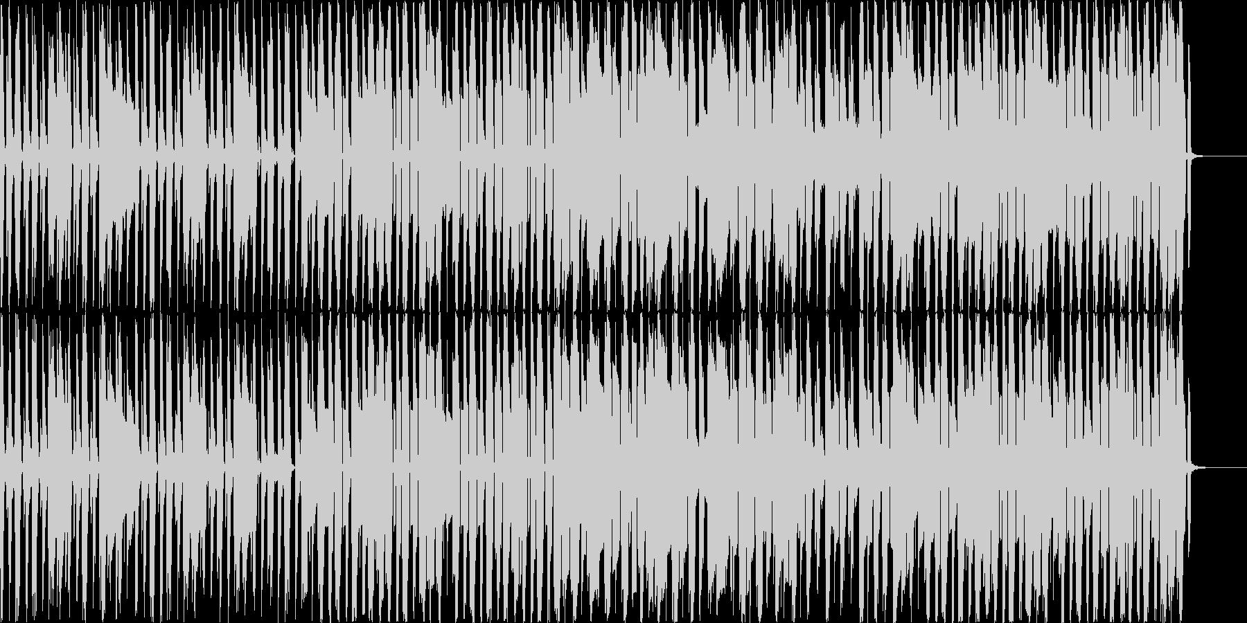 女性ボーカルが口ずさんでいるようなイメ…の未再生の波形