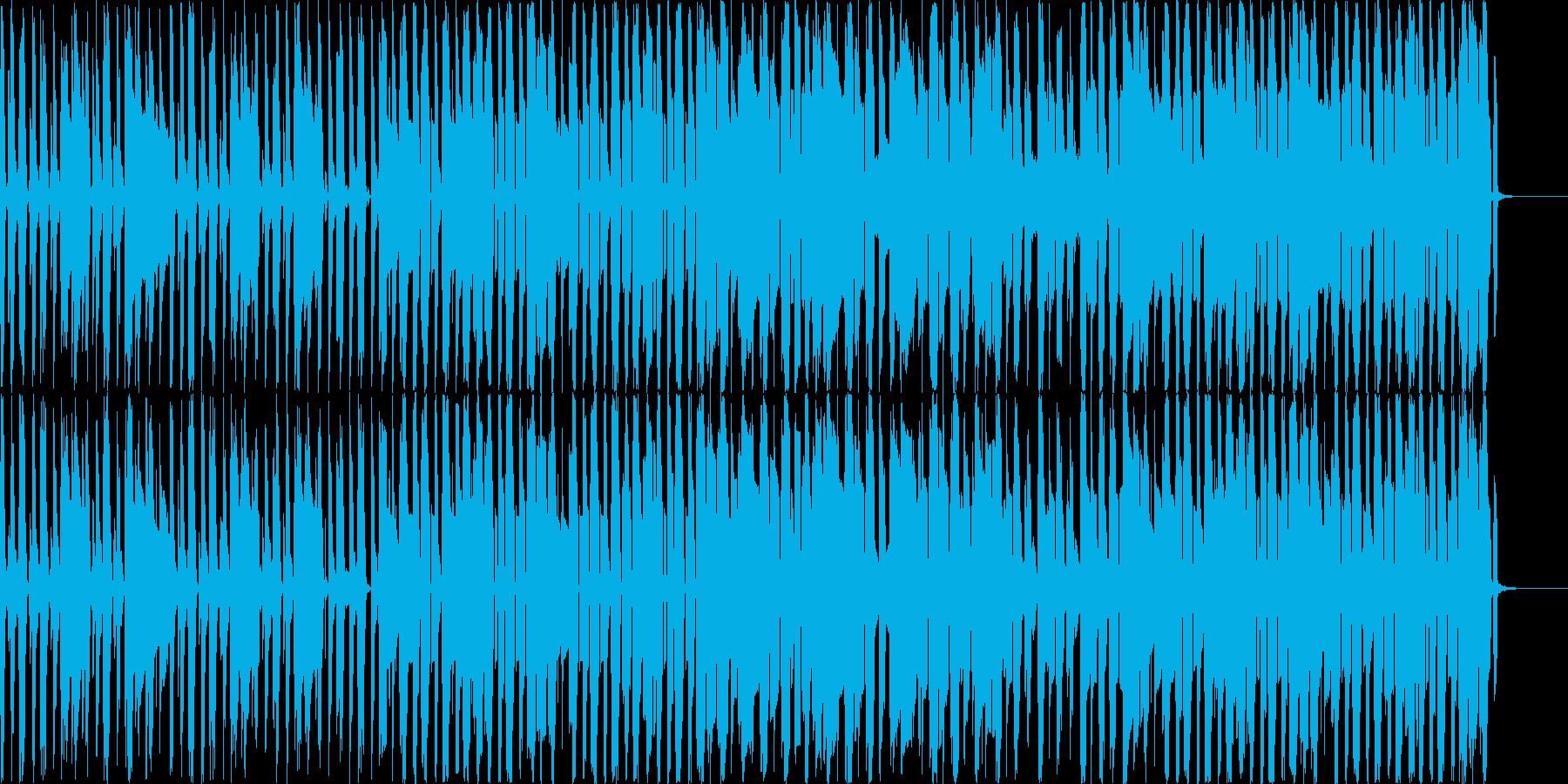女性ボーカルが口ずさんでいるようなイメ…の再生済みの波形