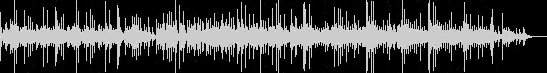 教会の少し切ない雰囲気のピアノBGMの未再生の波形