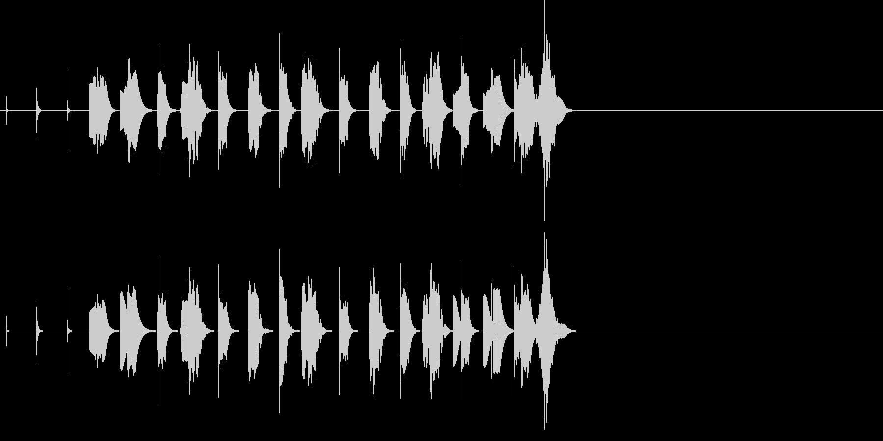 休憩 ほのぼの 動物 子供 場面転換の未再生の波形
