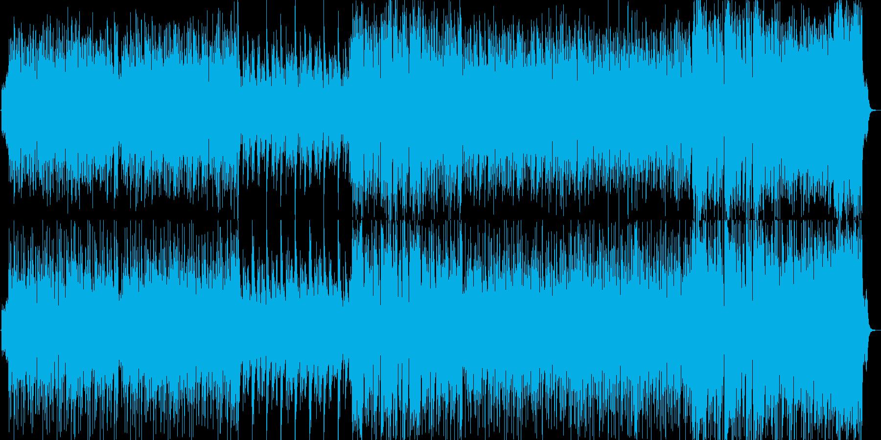 のんびりとした音楽 最初の町ぽいの再生済みの波形