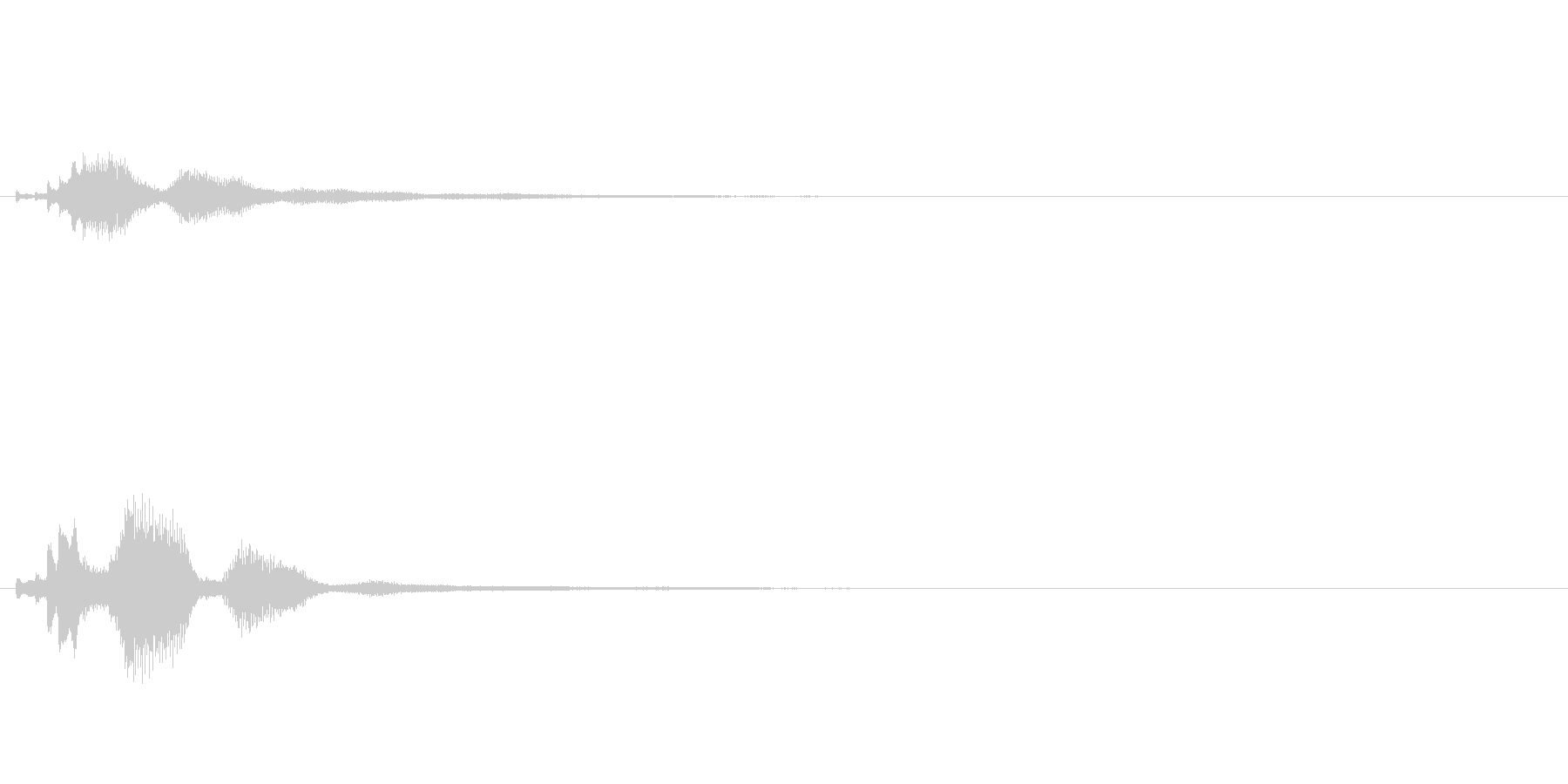 キラキラ系_062の未再生の波形
