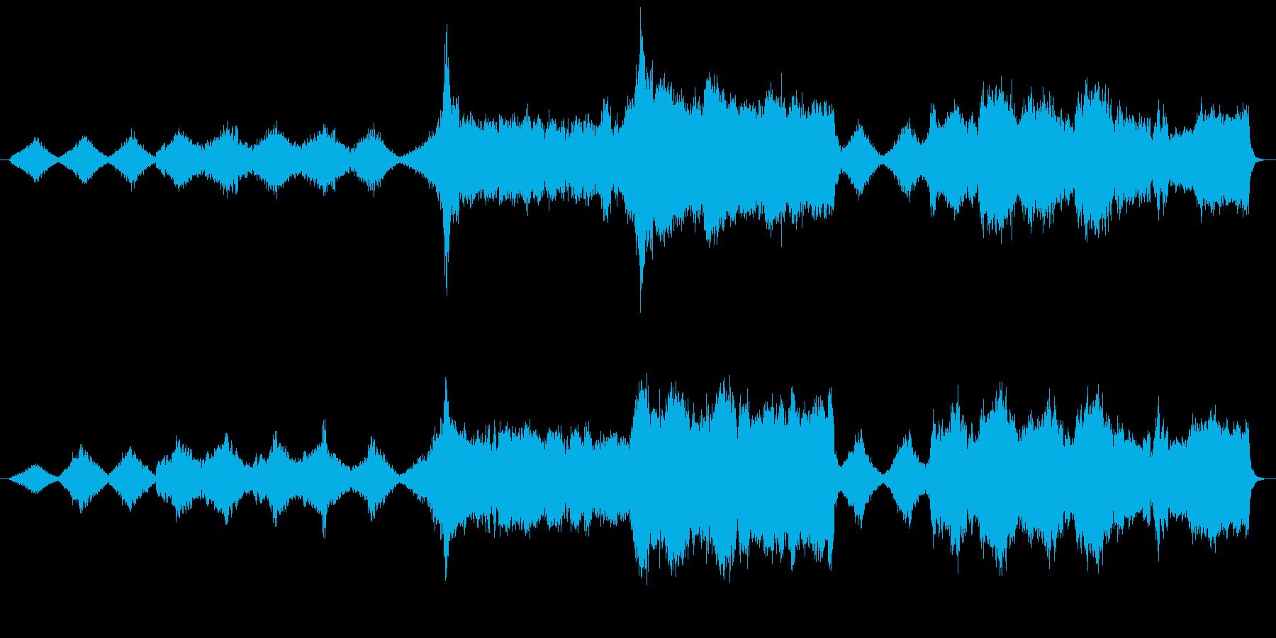 ファンタジーRPGの導入部を想定した神…の再生済みの波形