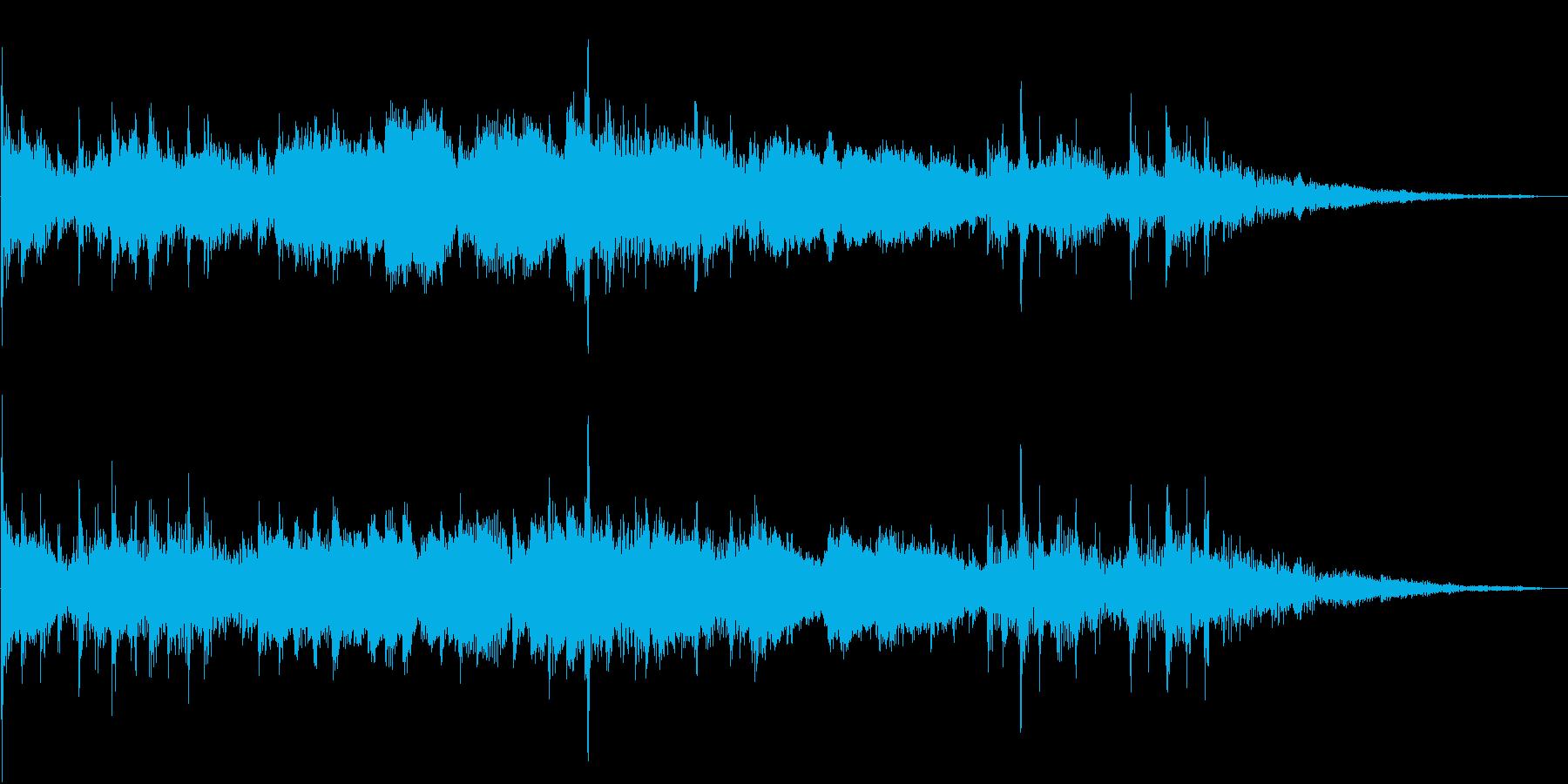 東南アジア系アイキャッチ 民族系の再生済みの波形