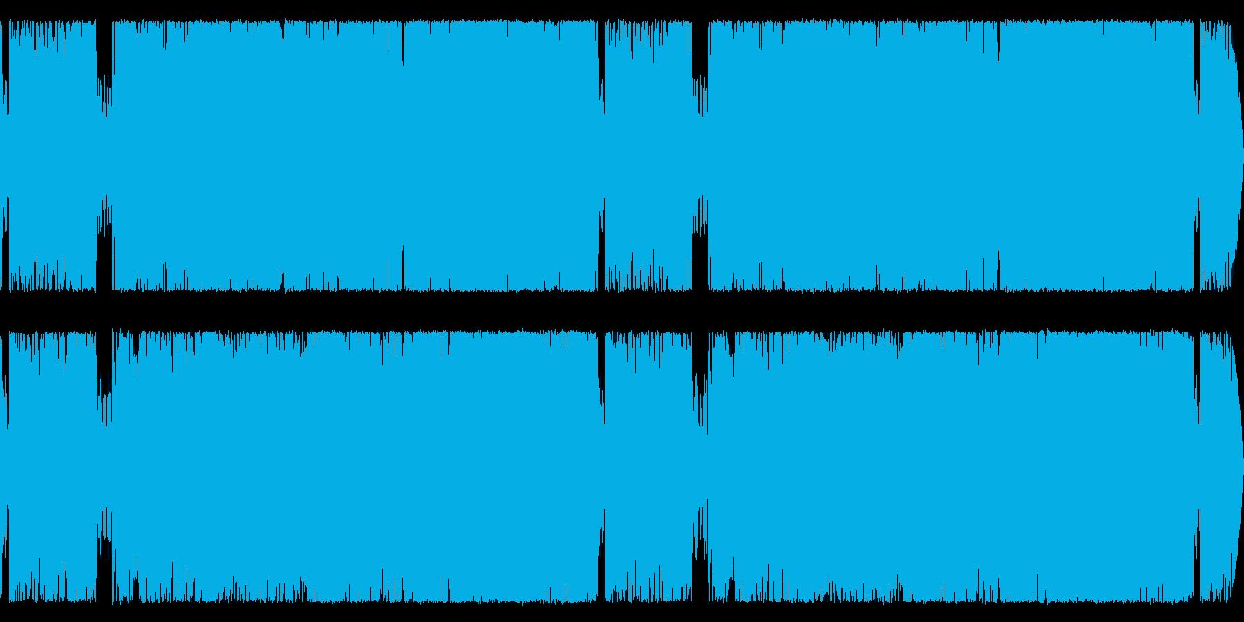 格闘・バトルに合う重厚なギターサウンドの再生済みの波形