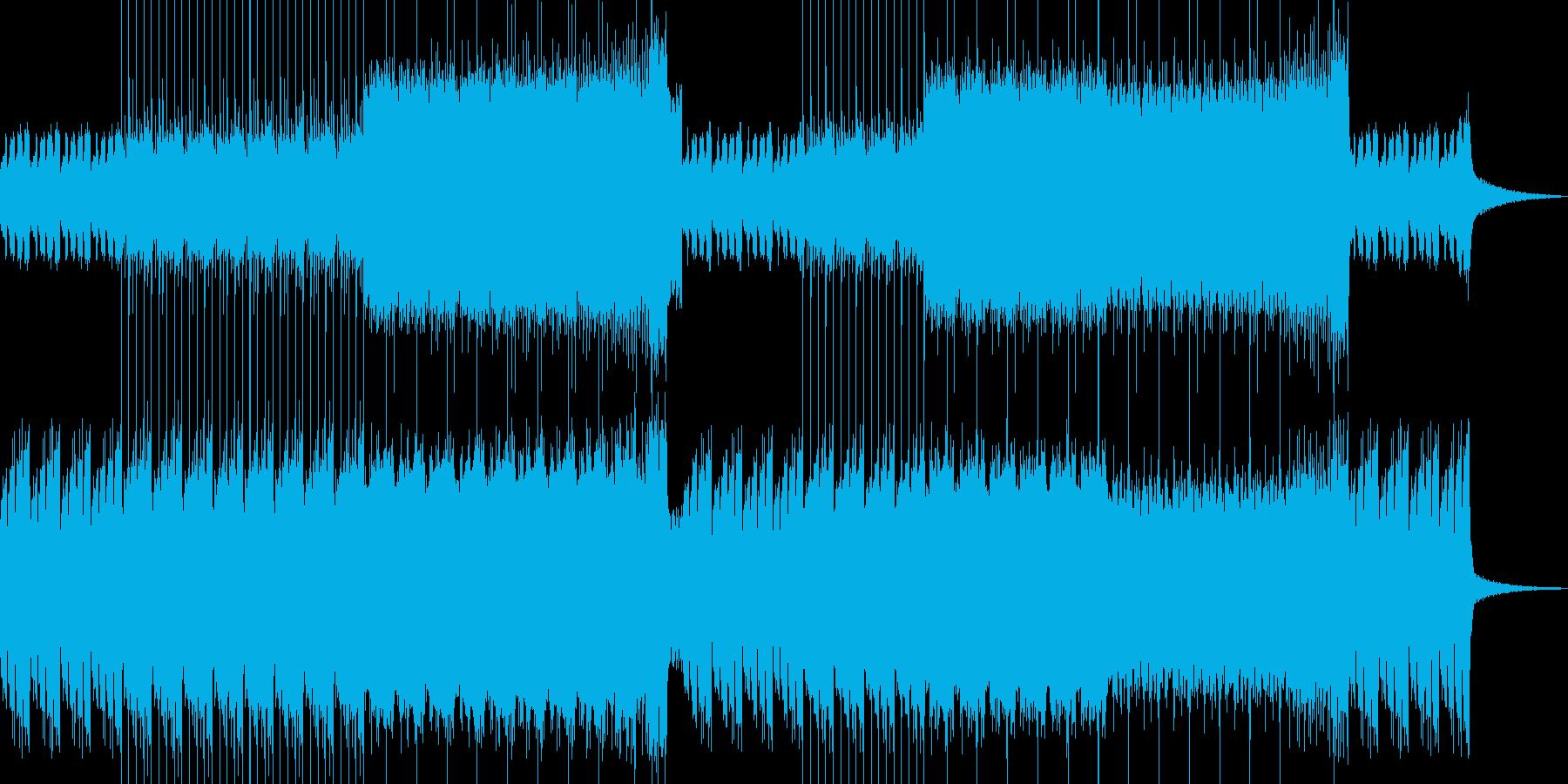 ファンタジーなシンセ・ベース幻想郷的音楽の再生済みの波形