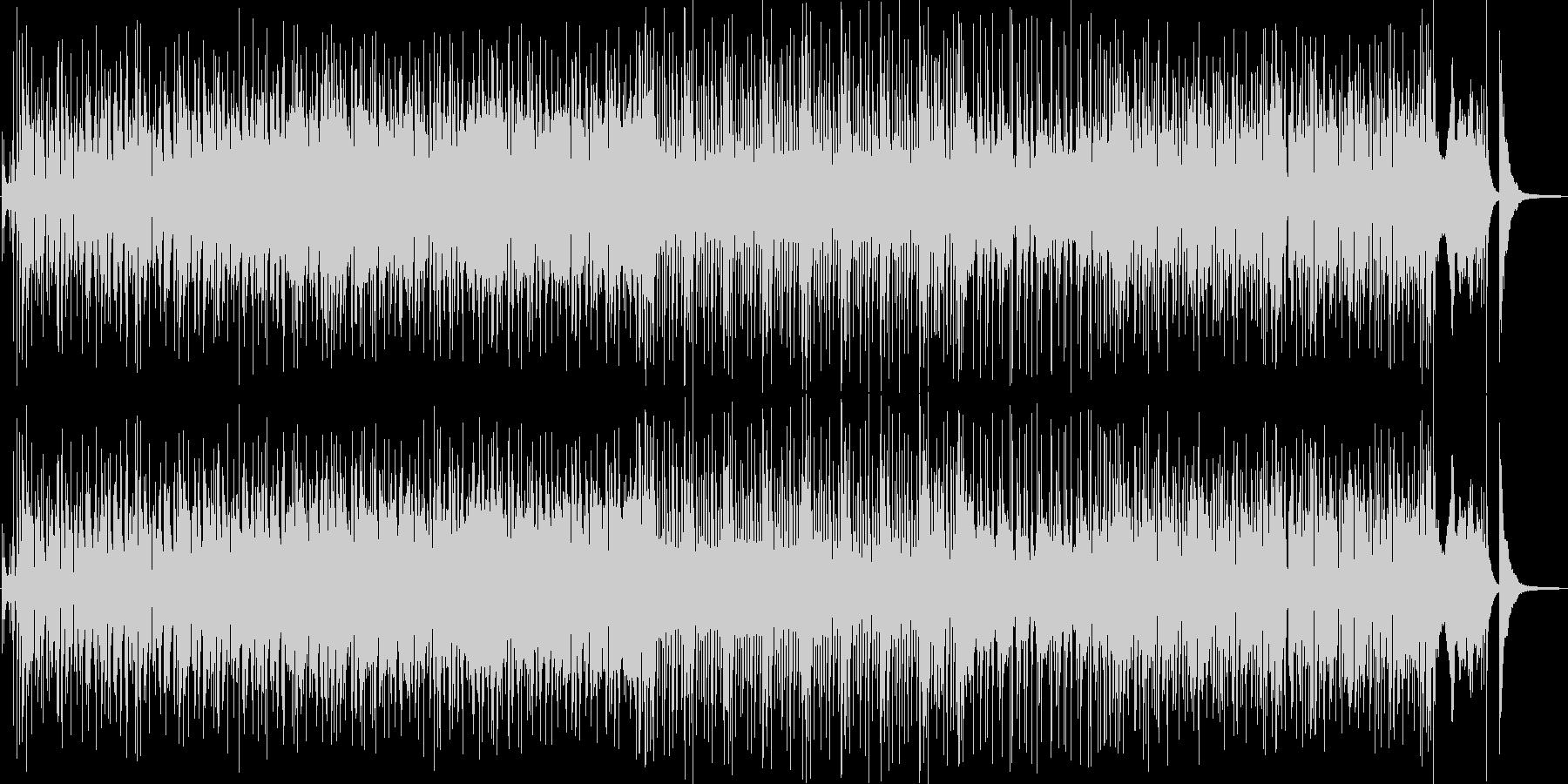 躍動するベースとローランドのシンセの未再生の波形