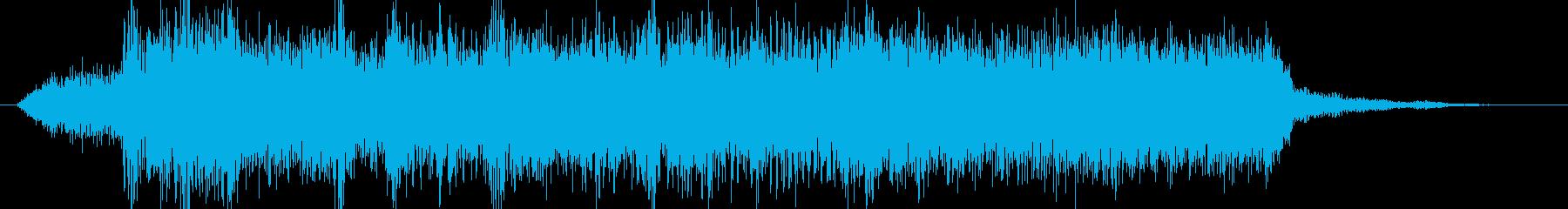 高音質♪ロックアップジングルの再生済みの波形