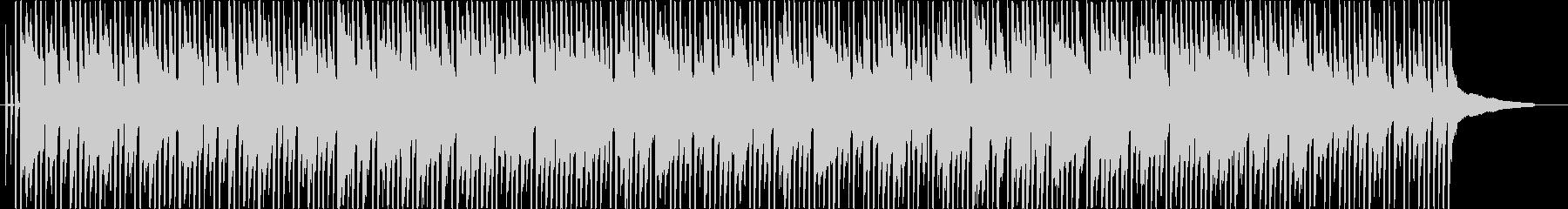 ほのぼのした感じのシンプルな曲です。の未再生の波形