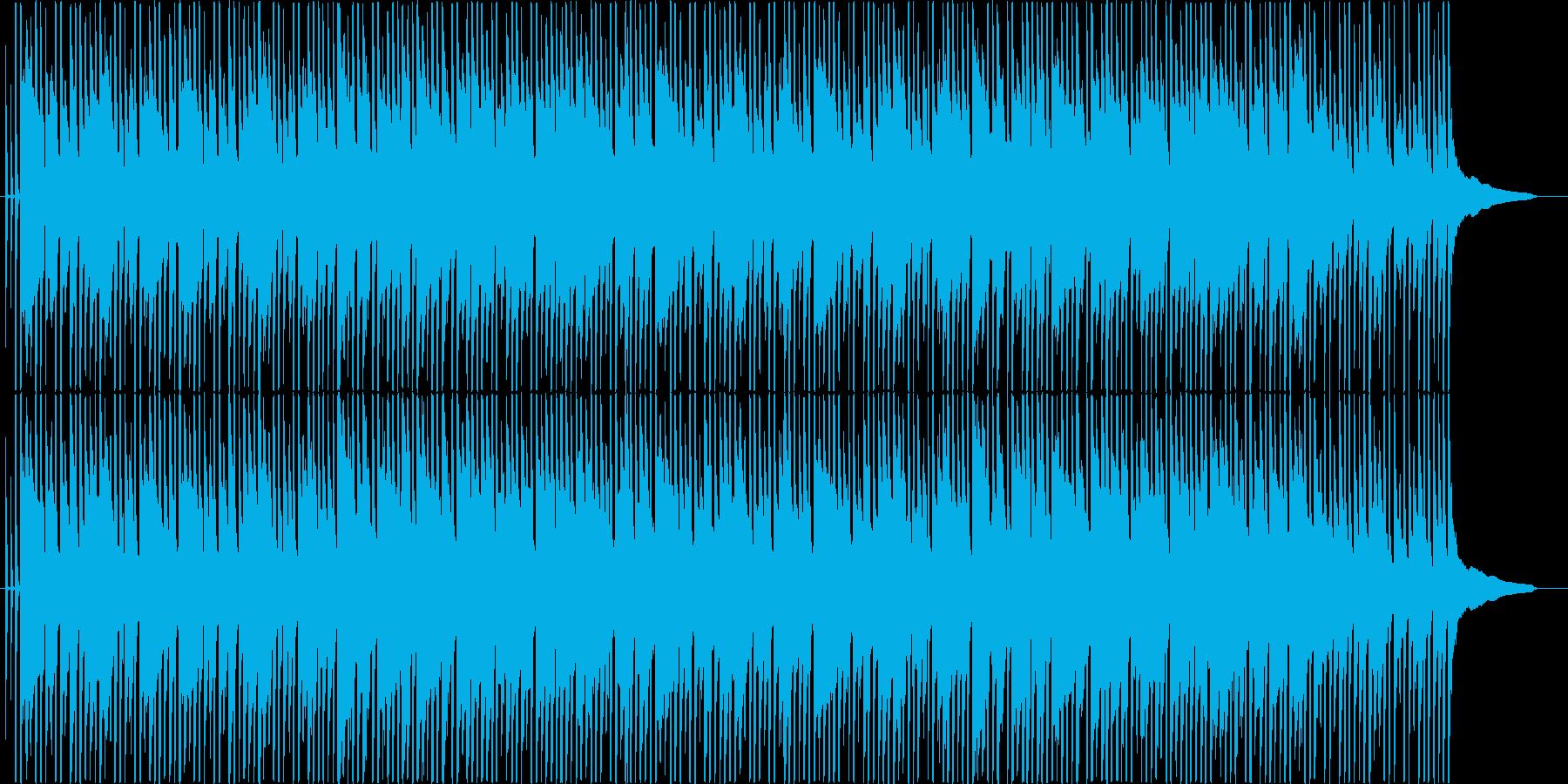 ほのぼのした感じのシンプルな曲です。の再生済みの波形