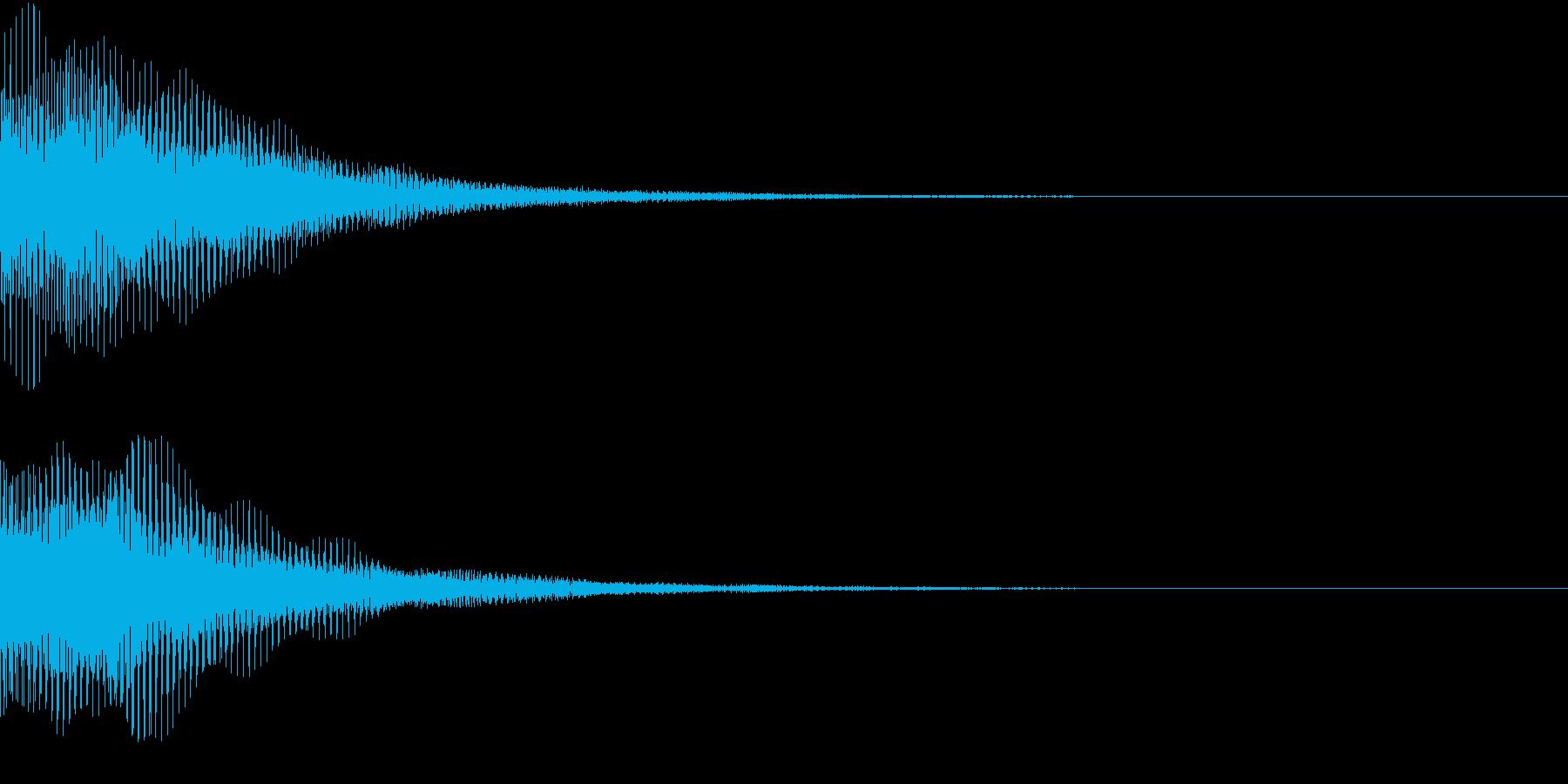 Cancel キャンセル&エラーの再生済みの波形