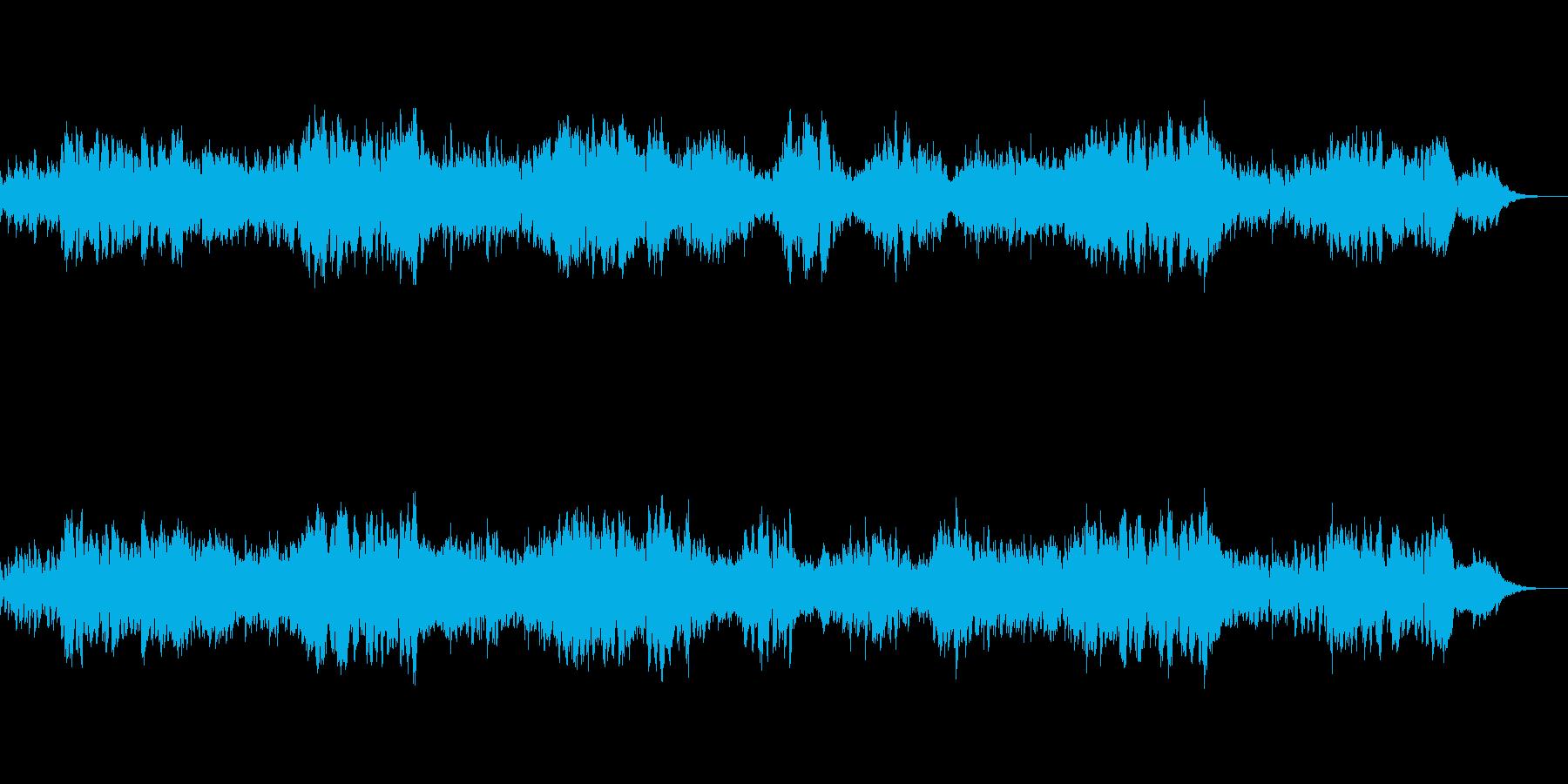 中東のゴーストタウンのBGMの再生済みの波形