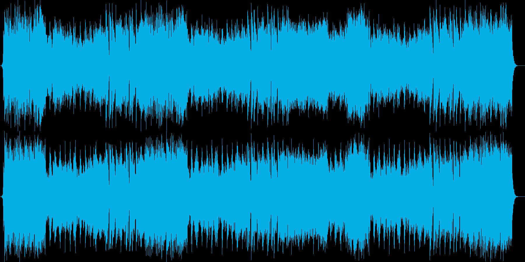 威風堂々とした管楽器が特徴のポップスの再生済みの波形