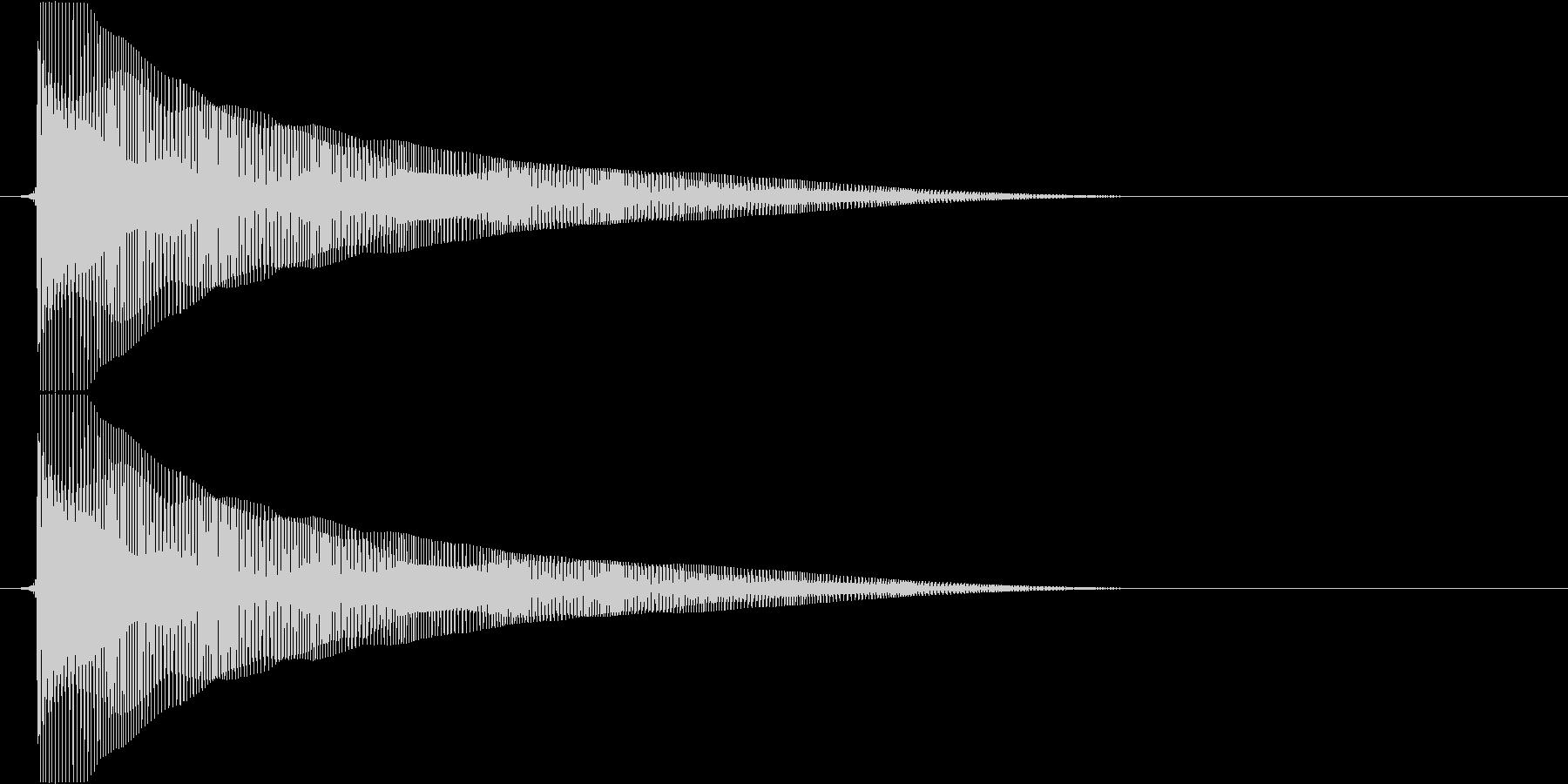 ビヨヨヨヨーン(バネ、お笑い、コメディ)の未再生の波形