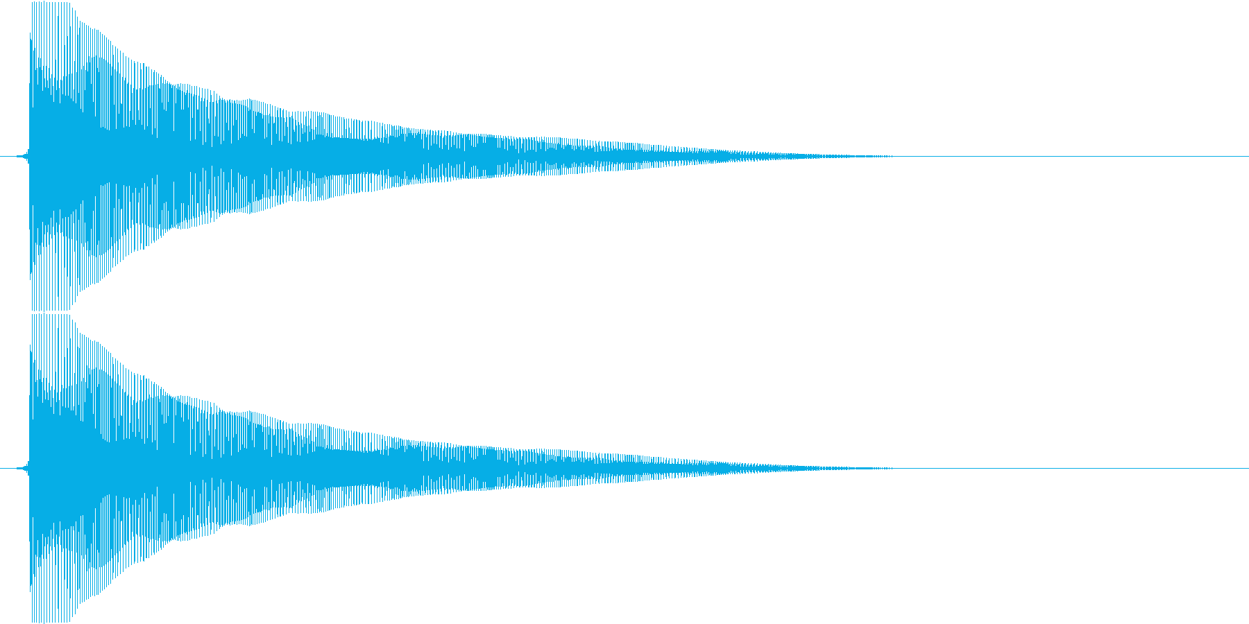 ビヨヨヨヨーン(バネ、お笑い、コメディ)の再生済みの波形