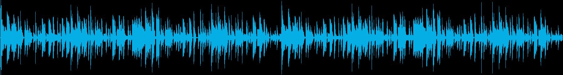 114bpm、キレのある16ビートの再生済みの波形