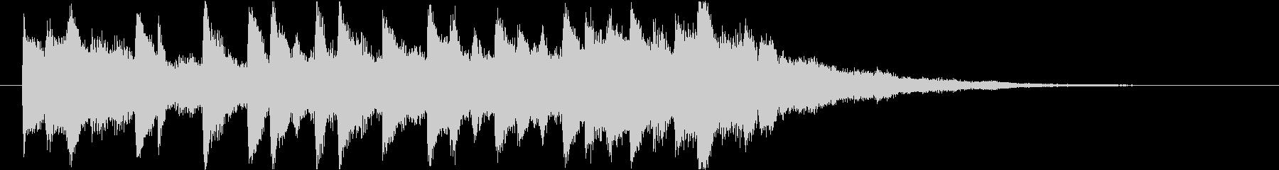 スタイリッシュなインスピレーション系ロゴの未再生の波形
