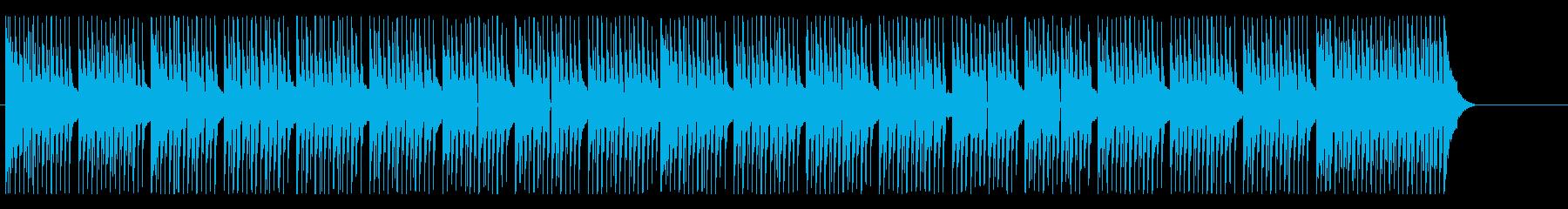 子供向けの楽しいコミカルポップの再生済みの波形