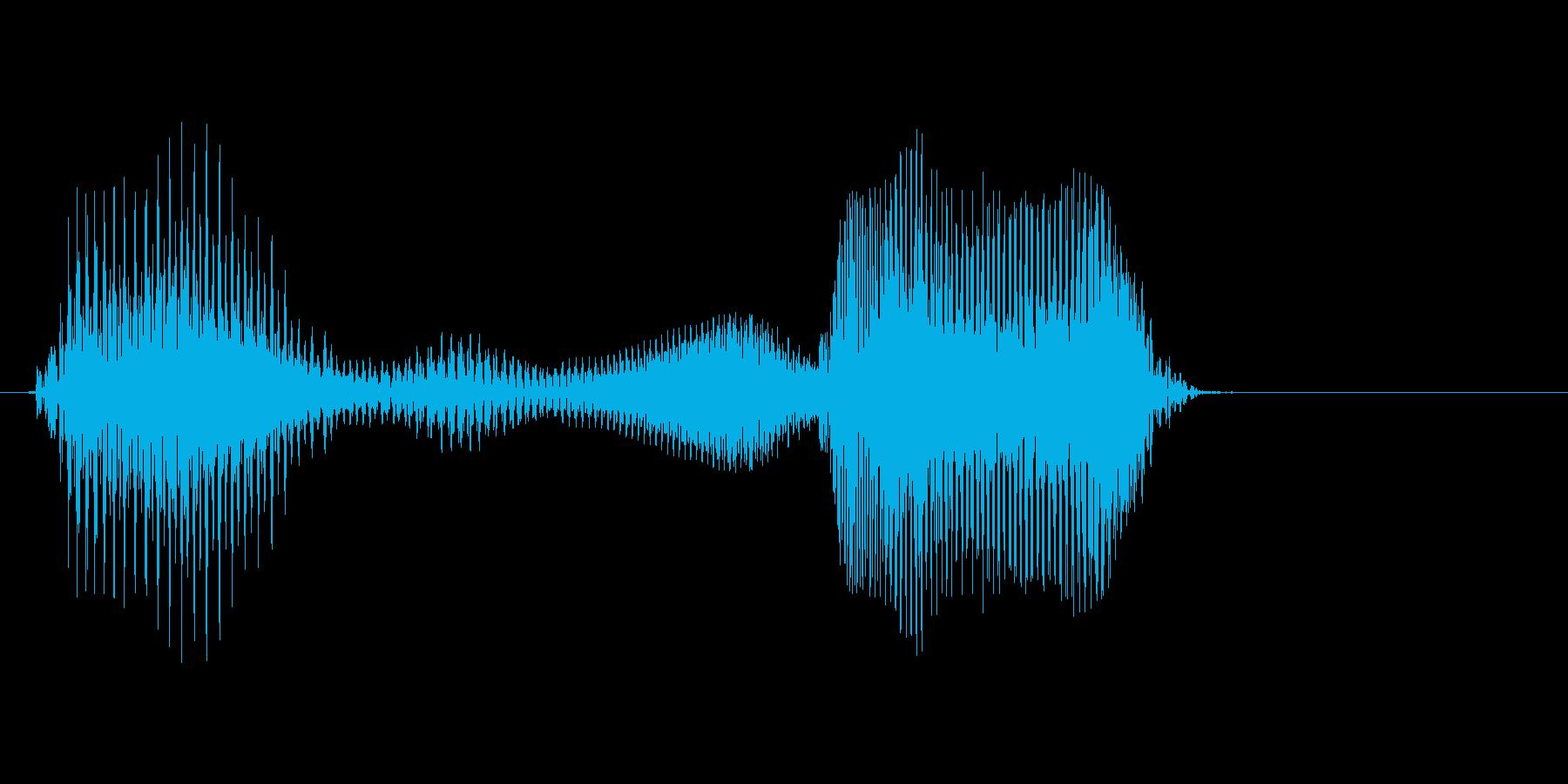 ビンゴの再生済みの波形