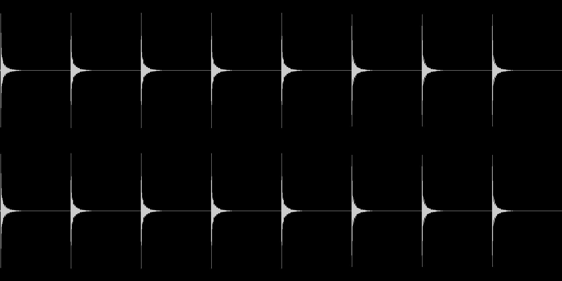 ドラムスティック/シンキングタイムその3の未再生の波形