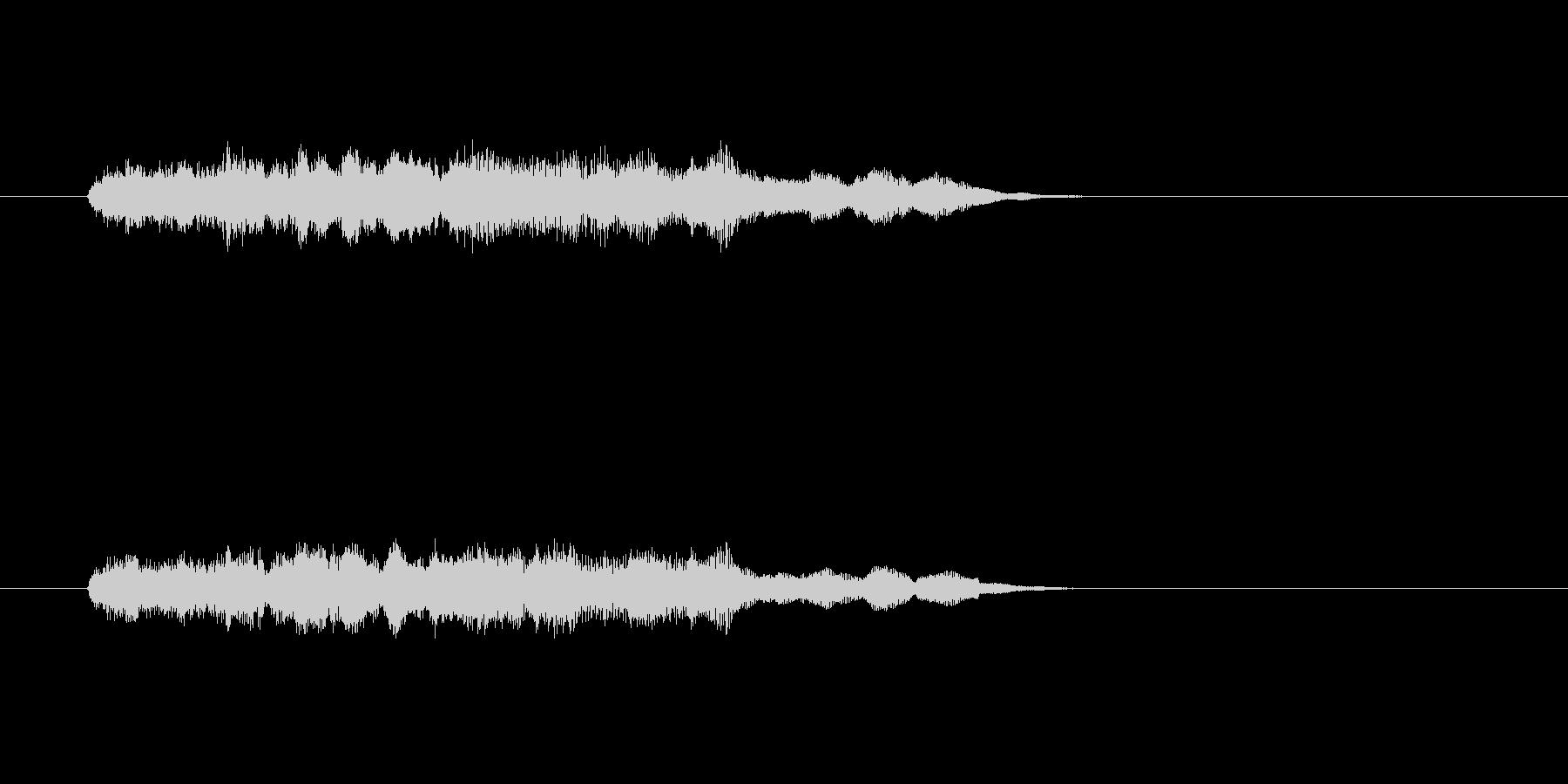 ファンタジー かわいい アニメ ハープの未再生の波形