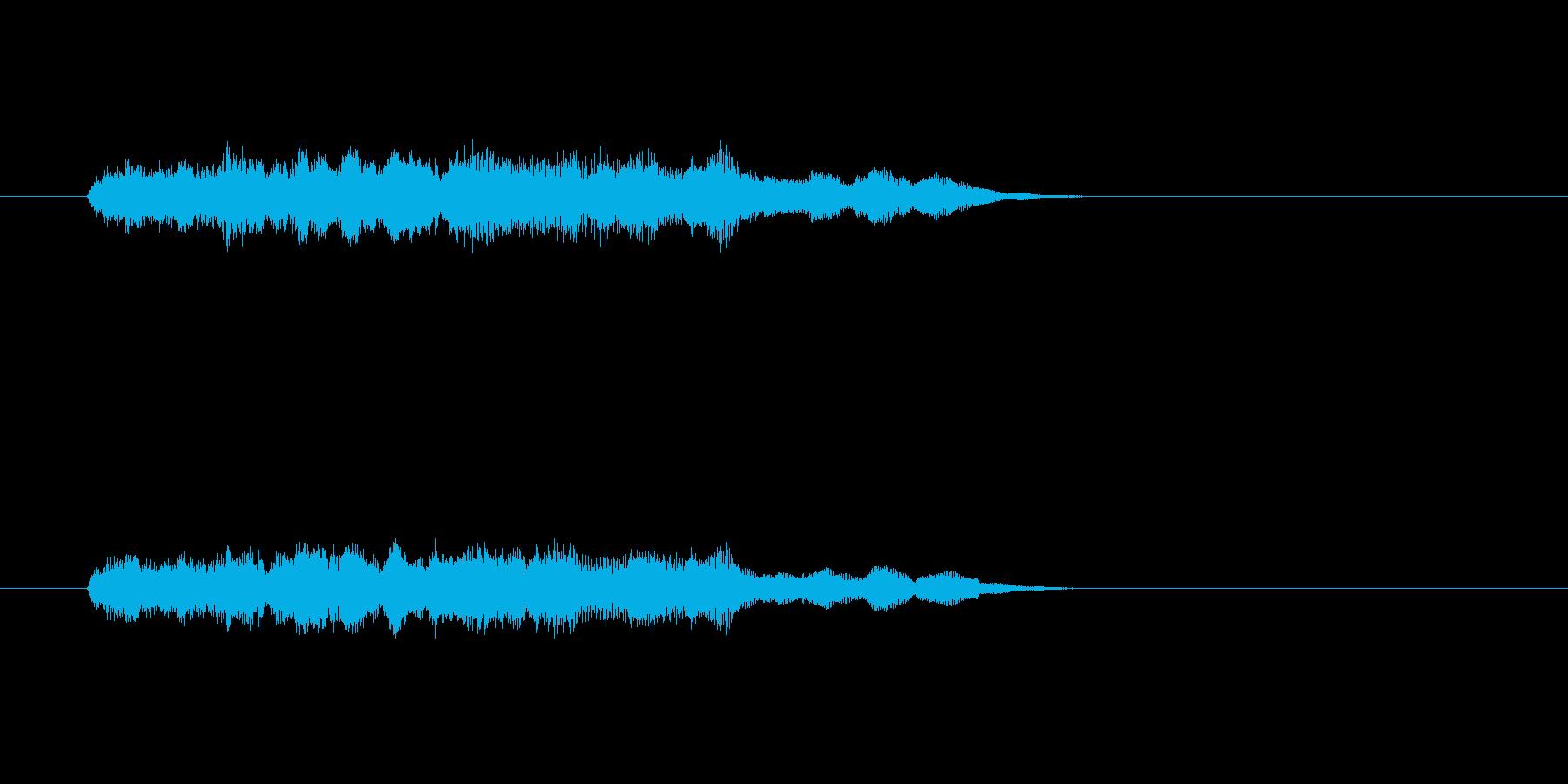 ファンタジー かわいい アニメ ハープの再生済みの波形