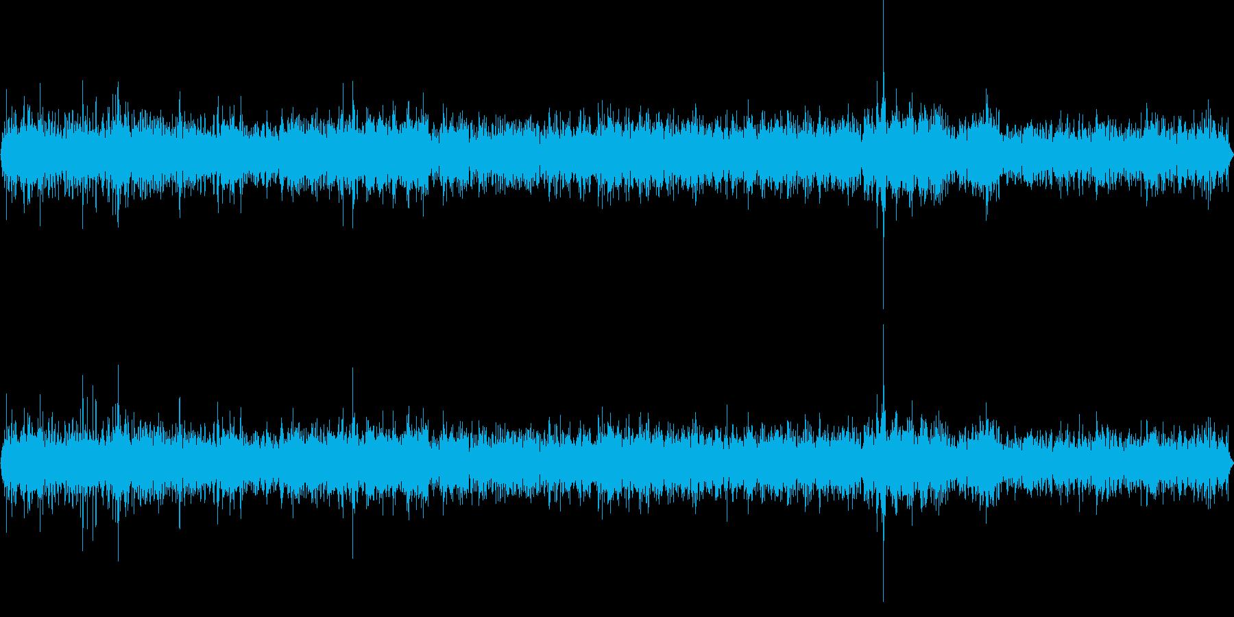 自然公園(環境音)の再生済みの波形