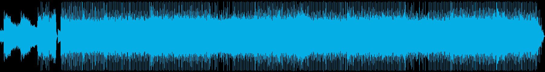 8bitとメタルの重厚なボス戦用BGMの再生済みの波形