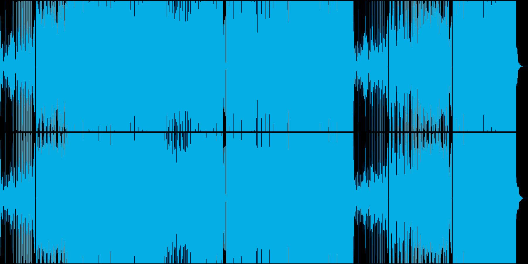 キラキラ系おとぎ話洋楽EDMの再生済みの波形