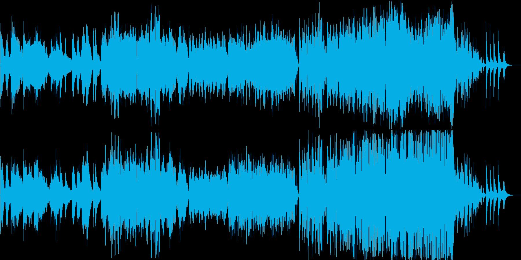 文部省唱歌ふるさとのオリジナルアレンジの再生済みの波形