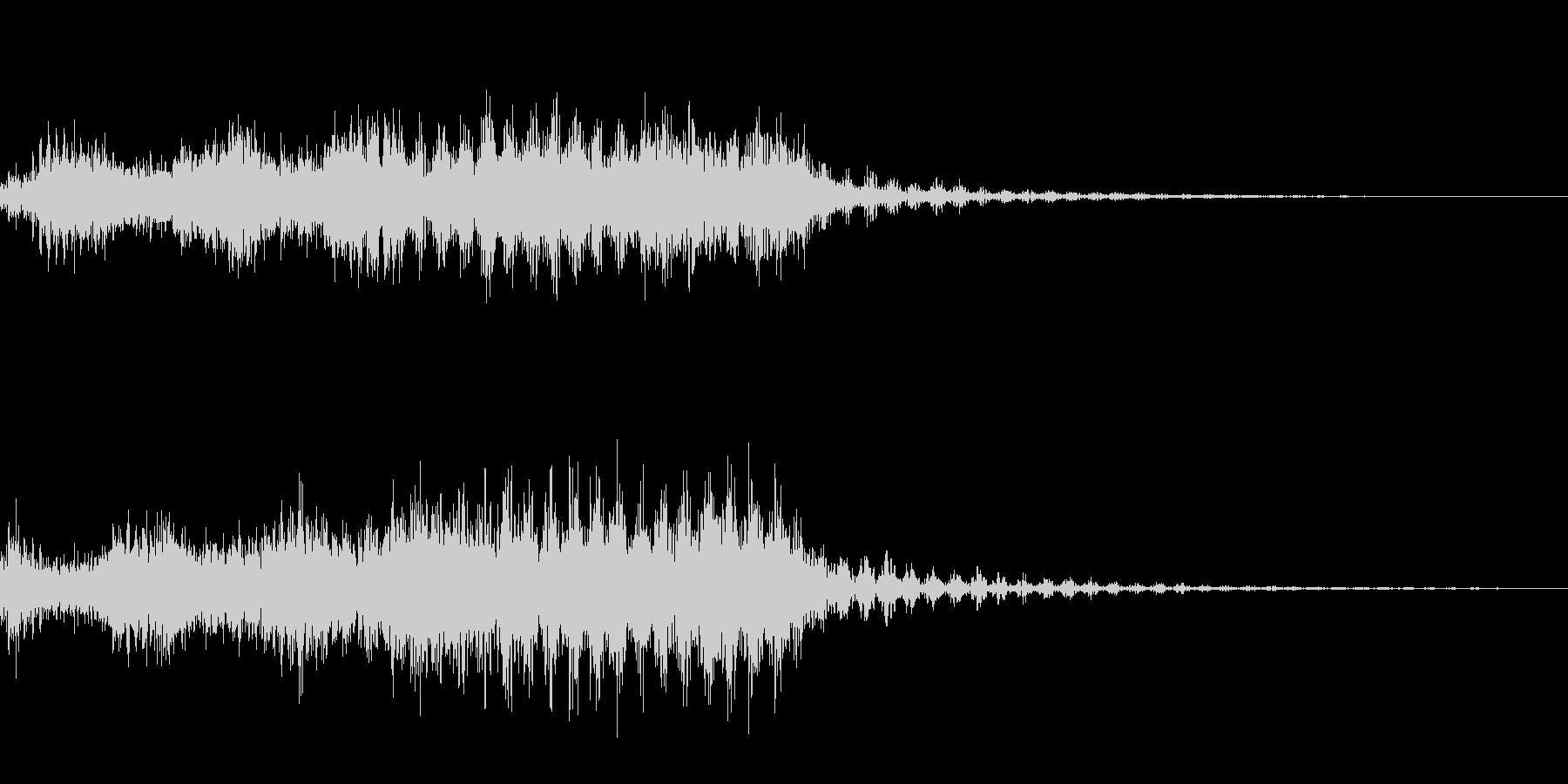 レーザービーム_その2の未再生の波形