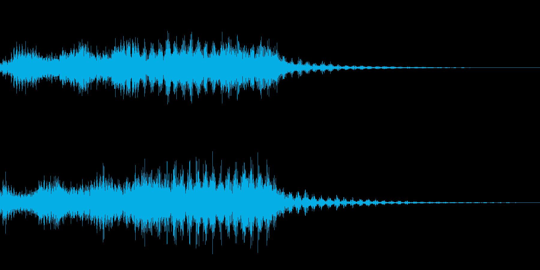レーザービーム_その2の再生済みの波形